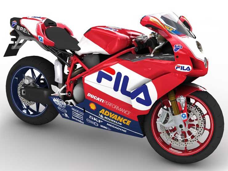 2005 Ducati 999 3D Model