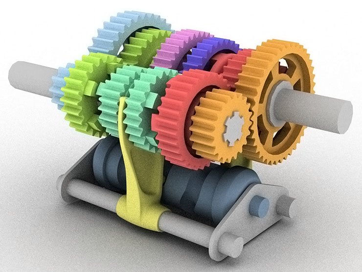 SBF-1 Gearbox