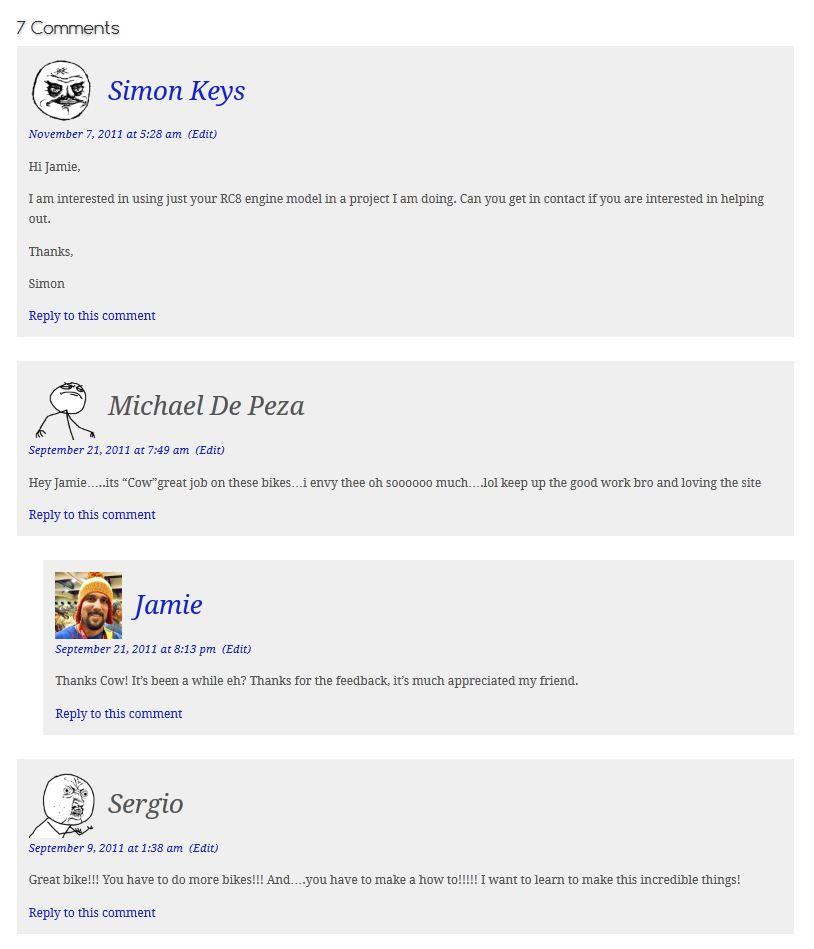 Rage Avatars WordPress Plugin