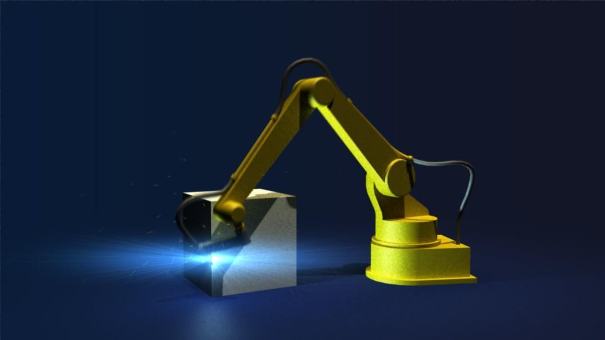 3D Animated Robotic Arm – Redux