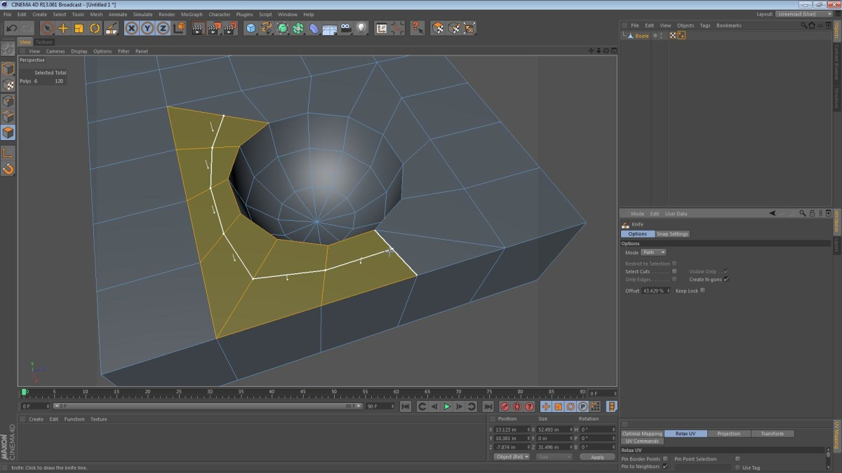 Boolean Tips for Cinema 4D Modelers