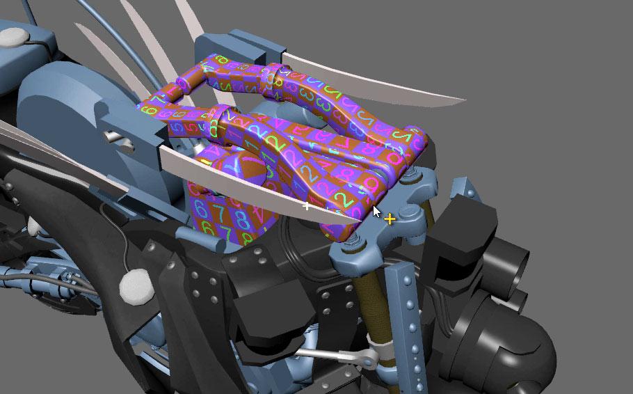 The Razorback – Part 44: UV Mapping The Large Arm Base