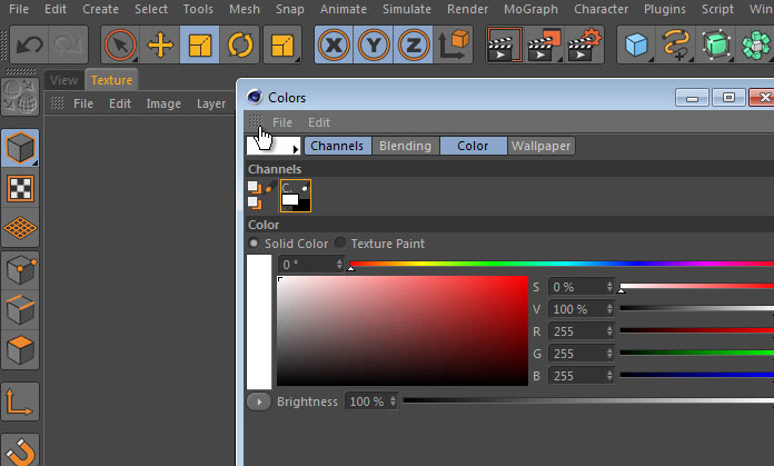 Customizing the Layout and Palettes in Cinema 4D