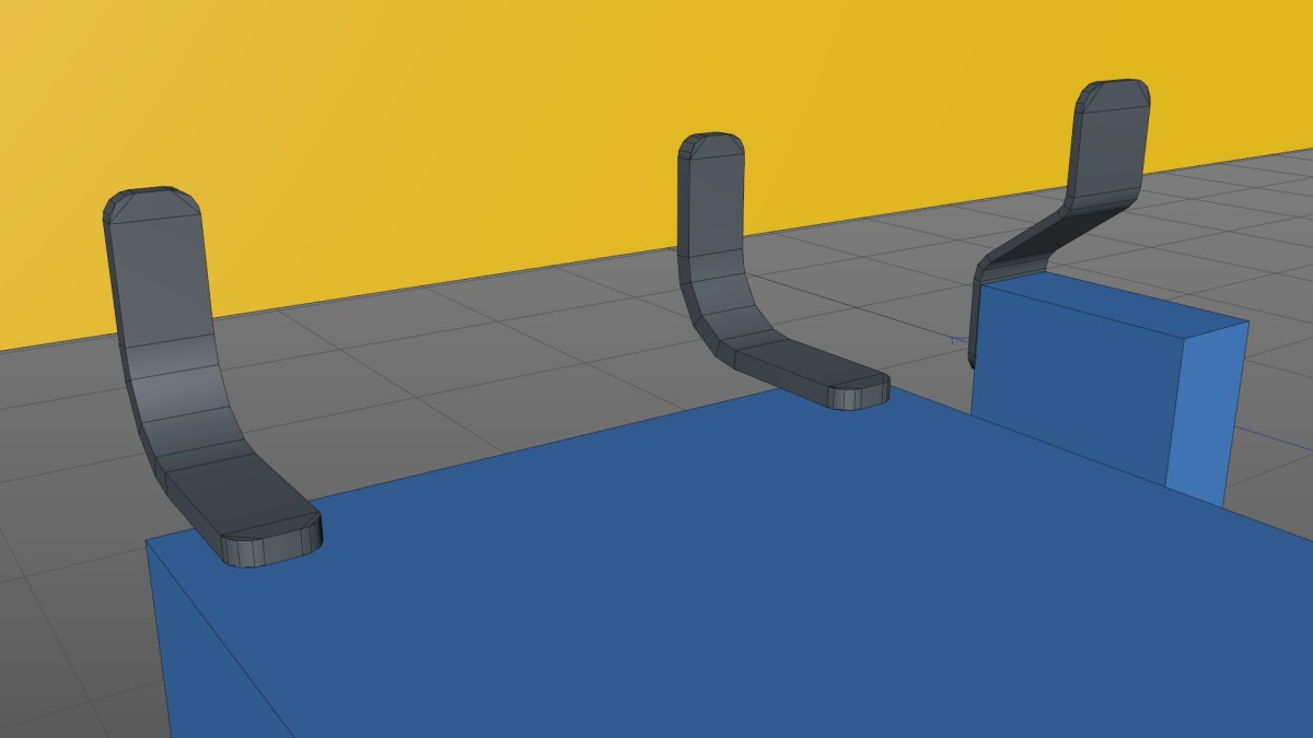 Modeling Mounting Brackets in Cinema 4D