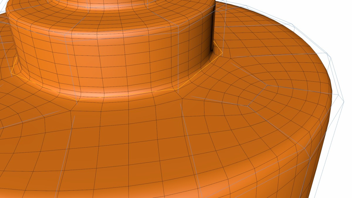 Reducing Loops of Edges in Cinema 4D