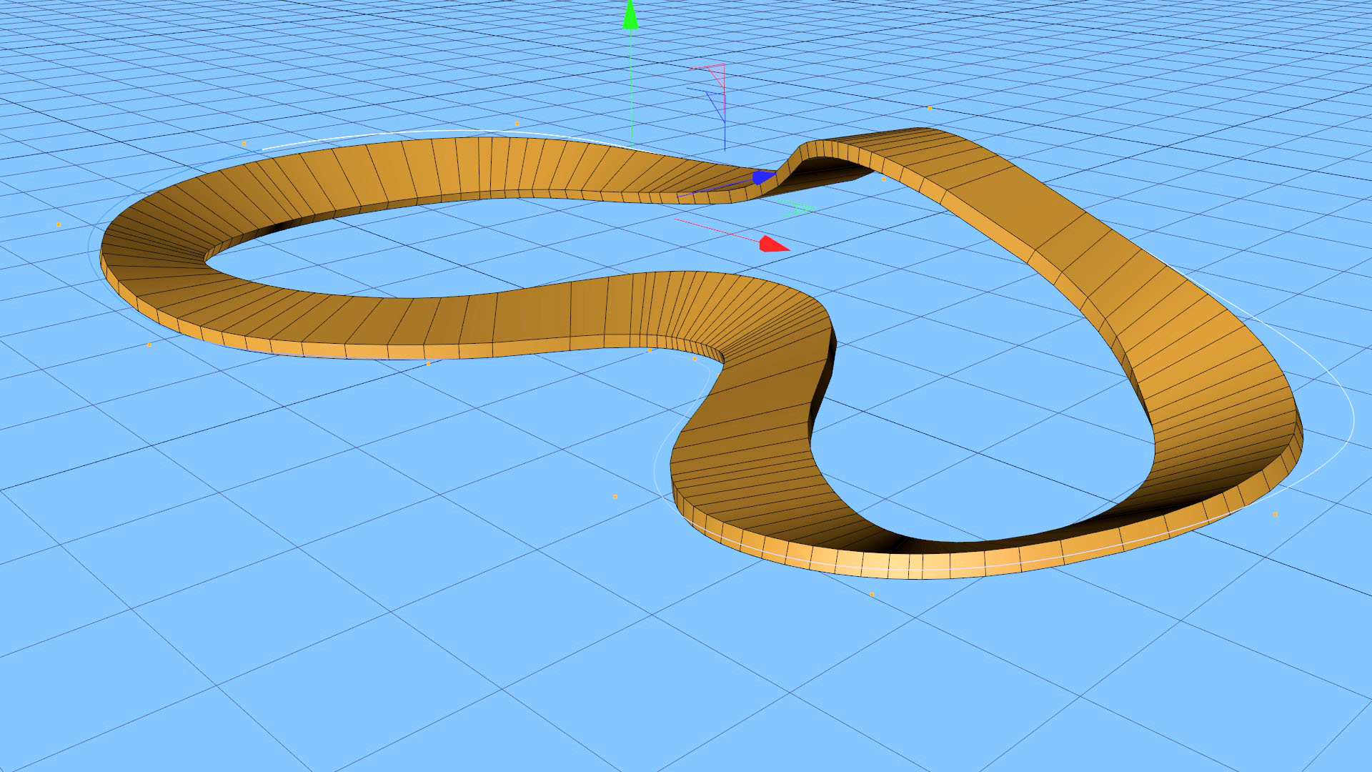 Sweeps and Rail Splines in Cinema 4D – jamie3d