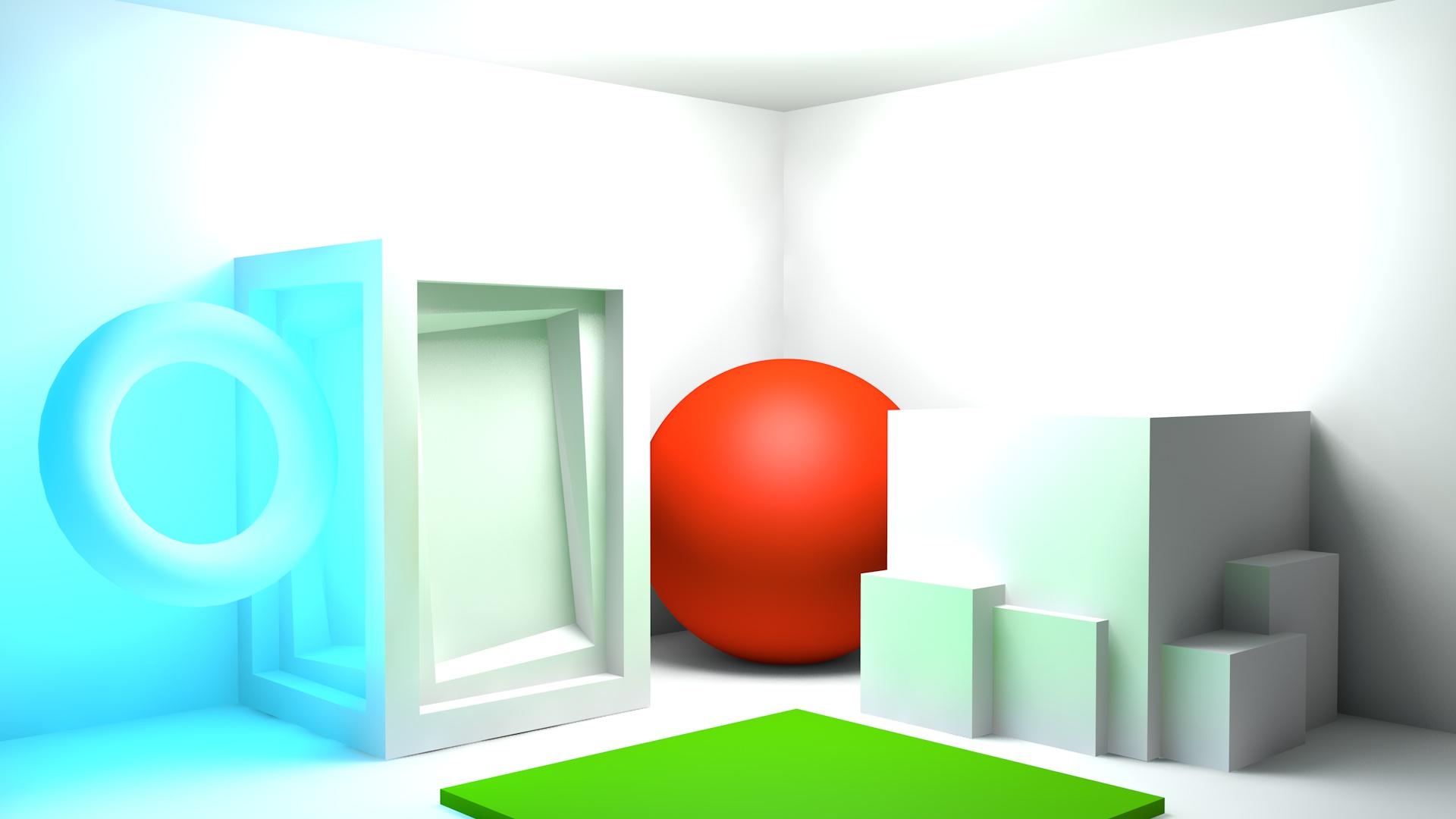 Controlling GI Color Bleed in Cinema 4D – jamie3d